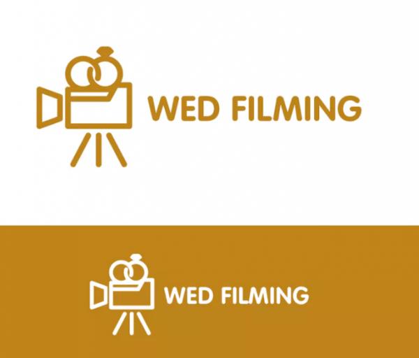 wed_filming_wedding_documentation_logo_design