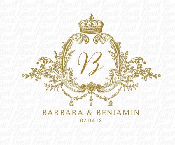 digital_print_ready_royal_wedding_logo