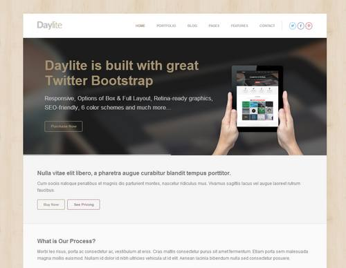 38 daylite multipurpose responsive html5 template
