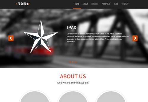 42 pantax fully responsible and parallax template
